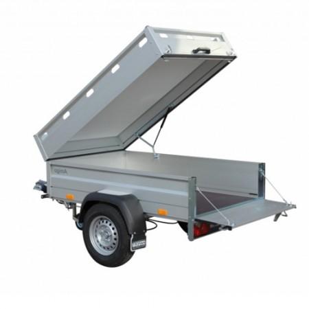 Bagagewagen-enkelasser huren
