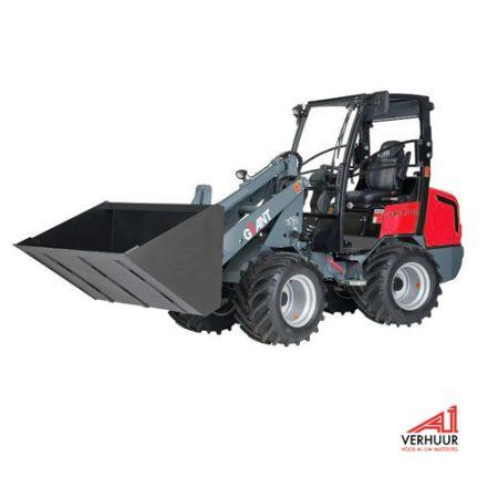 wiellader -shovel-2,5 ton huren